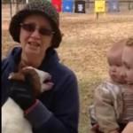 人間の赤ちゃんが泣いていると思ったらヤギだった